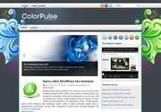 «ColorPulse» - это замечательная тема Wordpress для тех, кто хочет построить сайт с неповторимым дизайном