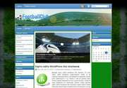 «FootballClub» - это замечательная тема для Wordpress