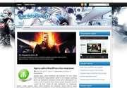Автор темы - компания ThemePix. Как и другие разработки компании, данная тема обладает высочайшим качеством и изящным стилем. «GamesRoom» - это современная тема для Wordpress