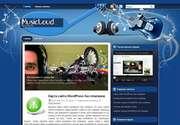 Эта современная тема разработана знаменитой студией ThemePix, заслужившей популярность высоким качеством своего дизайна. «MusicLoud» - это великолепная тема для тех, кто любит построить сайт с уникальным дизайном