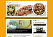 Поразите всех дизайном сайта! Предлагаем Вам роскошную тему для Wordpress - «My Recipe»! Аппетитный и нежный, свежеиспеченный вид шаблона приглянется поэтам кухни, зашедшим на ваш новый сайт