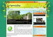 Данная тема разработана известной компанией ThemePix, заработавшей популярность лучшим качеством своего дизайна. «OrganicBlog» - это превосходная тема для тех, кто желает построить свой уникальный сайт