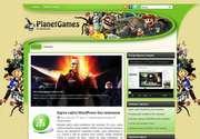 «PlanetGames» - это великолепная тема для тех, кто желает создать сайт с индивидуальным дизайном. Подходящий вариант для обзорного сайта либо для игрового ресурса